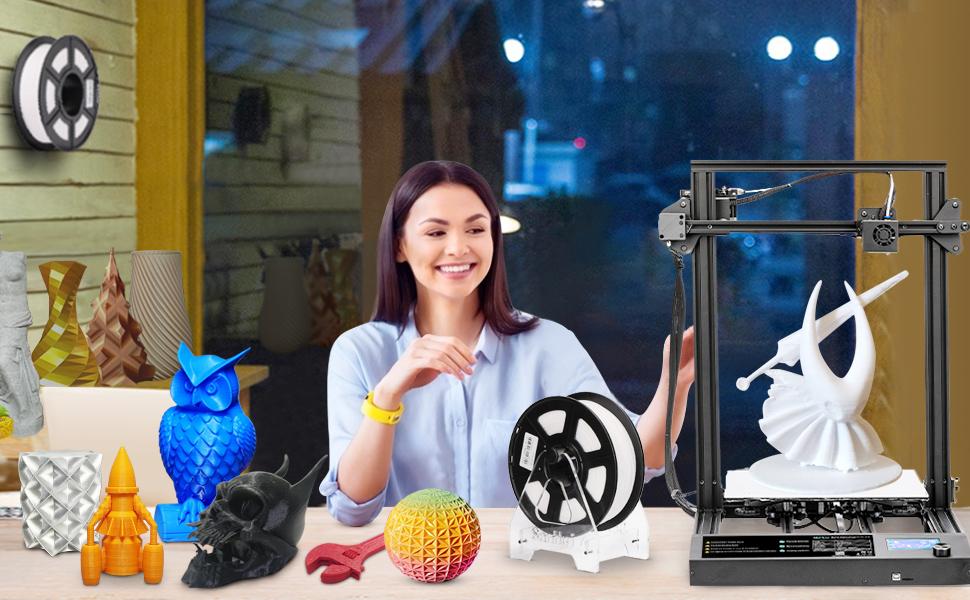 PLA filament master spool 3d printing filament 3d printer filament sunlu PLA 1.75 PLA filament 1.75