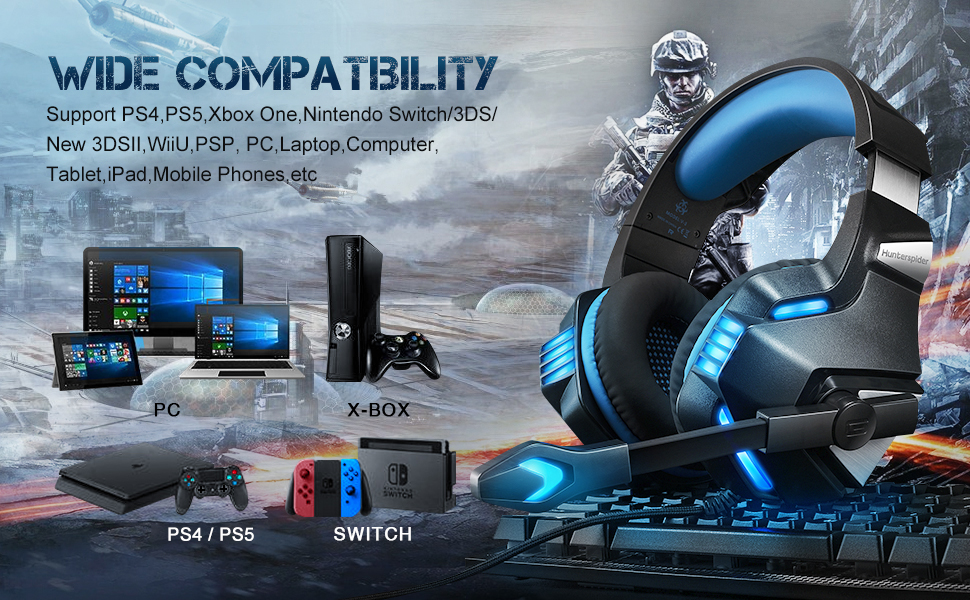 pc xbox one pc headset with mic