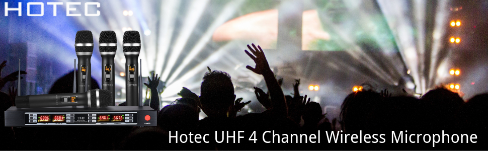 Hotec UHF Wireless Microphone