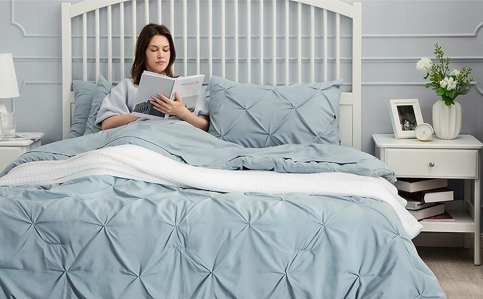 Bed in a Bag light blue