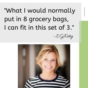 sturdy holds a lot of groceries