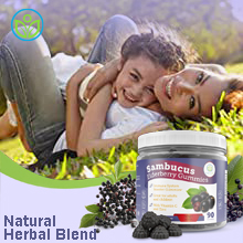 elderberry gummies for kids adults zinc vitamin c immune system support booster vitamin gummy chew