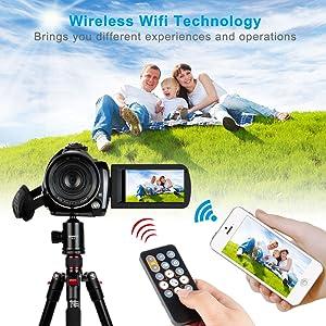 Flashandfocus.com 6776f53a-e1b6-4e3f-99a7-e28428f1833c.__CR0,0,1000,1000_PT0_SX300_V1___ Video Camera 4K Camcorder ZOHULU WiFi Ultra HD Vlog Camera for YouTube, 3.1'' IPS Screen 30X Digital Zoom Night Vision…