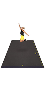 extra large exercise mat