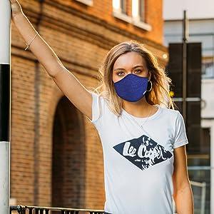 Lee Cooper Heiq Viroblock Face mask