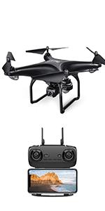 Potensic D58 Drone Black