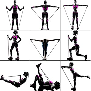 tube resistance bands workout