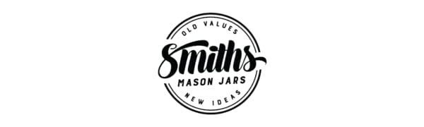 smiths mason jars, mason jars, mason jar mugs