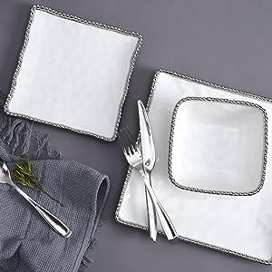 Plates; dinnerware