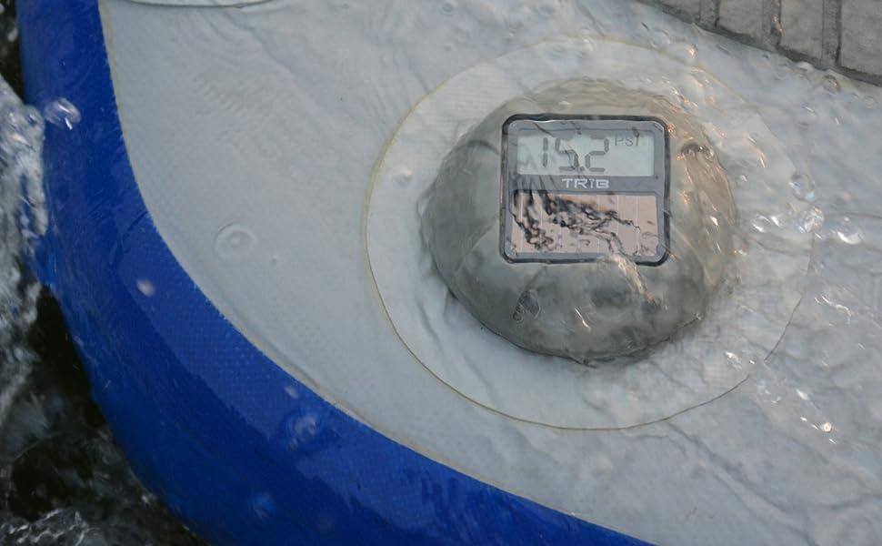 airCap, pressure gauge, sup, water, raft, inflatable, paddle board, raft pressure gauge