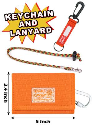 Small Cute Orange Keychain  Cotton Wallet