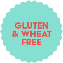 Gluten and wheat free
