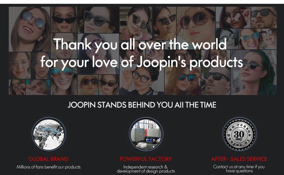 Joopin Eyewear Funs All Over the World