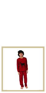 leveret, flannel pajamas. family pajamas, kids pajamas