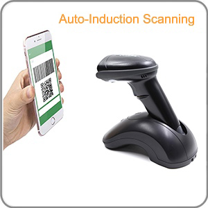 presentation mode scan without pressing the trigger of the scanner hands-free auto-sense scan