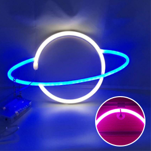 LED Planet Neon Signs