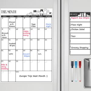 fridge calendar