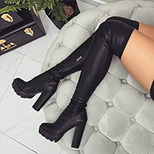 sexy high boots for women