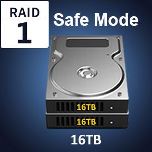 raid enclosure storage box case shell usb typc hdd enclosure