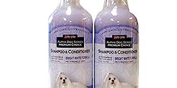 white shampoo conditioner