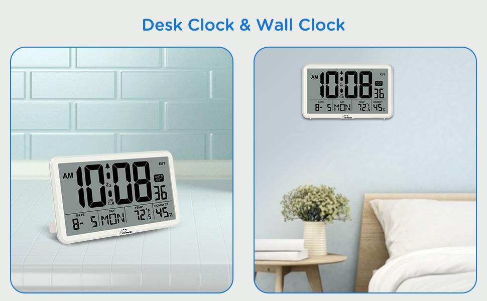 desk clock or wall clock