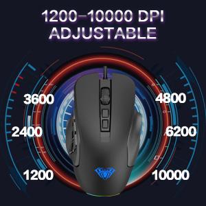 10,000 DPI Adjustable