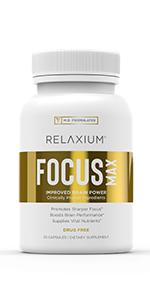 Relaxium FocusMax bottle