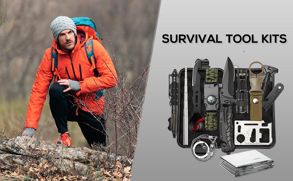 Survival Tools Kit Gifts for Mem