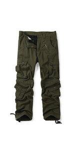 fleece lined cargo pants