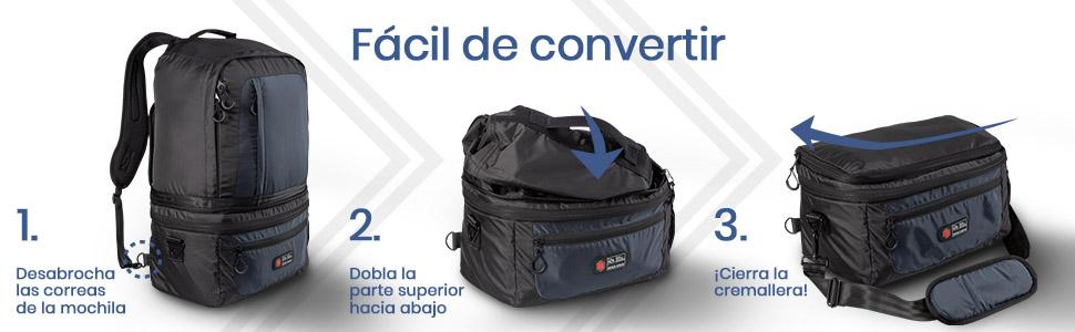 Cabin Max Mochila de Cabina Universal | Maleta de Cabina de 2 en 1 ...