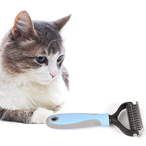 pet grooming tool double sided, dog grooming rake,dog dematting tools, dematting for dogs