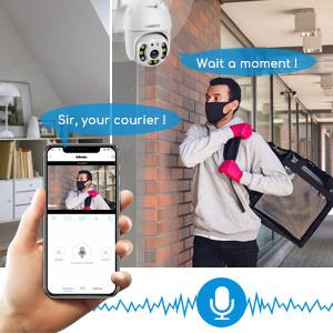 camera de surveillance wifi sans fil
