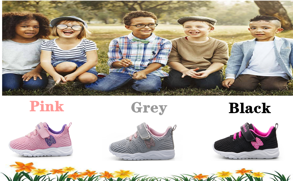 Sports Shoes for Kids Athletic Trainers Boys and Girls Casual Running Shoes