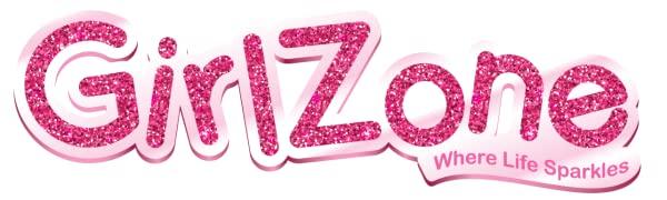 GirlZone regalo niña tizas el pelo tizas de colores lavables pintar cabello color temporal regalos