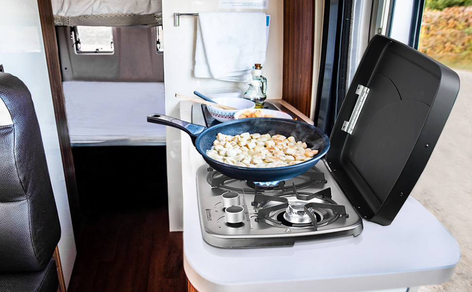 built-in rv cooktop