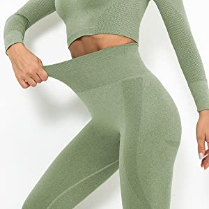 High Waisted and Tummy Control Leggings