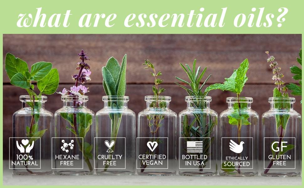 pure essential oils skin hair nails sensitive allergy antifungal antibacterial fungal anti spearmint
