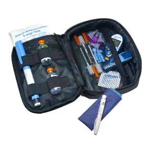 Daily Diabetic Organizer + Single Pen Poucho