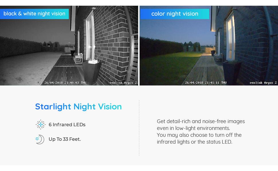 night vision starlight