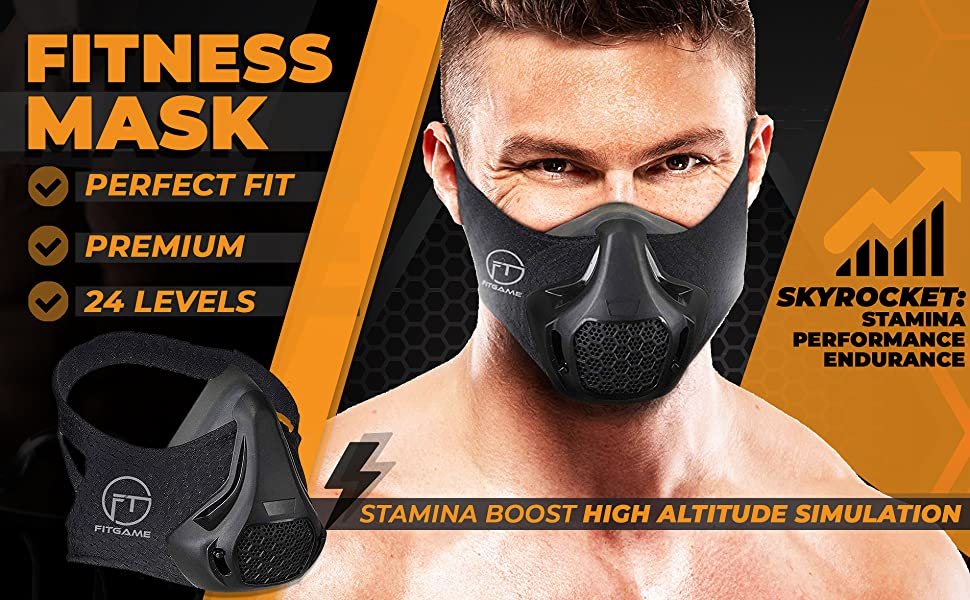 face mask with breathing valve workout mask sport mask cardio training  mask with breathing valve