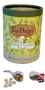TeaDrops Liquid Seedling Transplant New Planting Organic Plant Food Fertilizer Worm Castings Tea