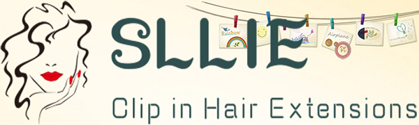SLLIE LOGO CLIP IN HAIR EXTENSIONS