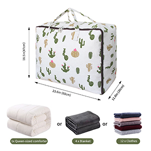 Storage for Blankets, Comforters, Clothes, Quilts storage
