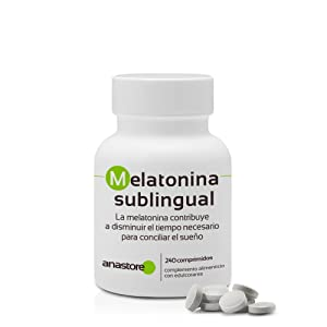 MELATONINA SUBLINGUAL | Pureza garantizada superior al 99% | 1.8 ...