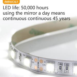 LED Lighted Bathroom Mirrors Wall