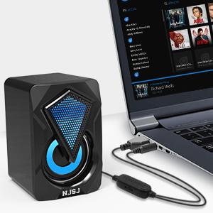 pc speakers led