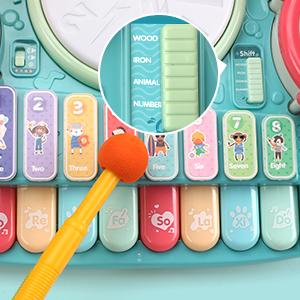 electronic xylophone toy