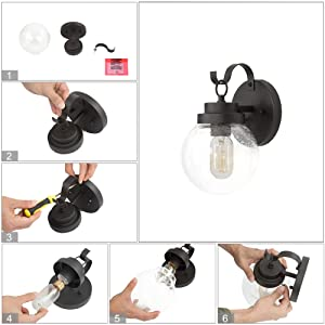 outdoor light for house wall mount