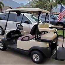 0L0L Golf Cart Hub Caps Wheel Covers