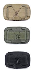 TRIWONDER Tattico Borsello da Cellulare Borsa Custodia Militare Molle per Giocchi Strategia Giocco di Guerra Wargame CS Trekking ECC.